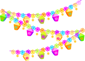 free vector Festival Christmas Decorations clip art