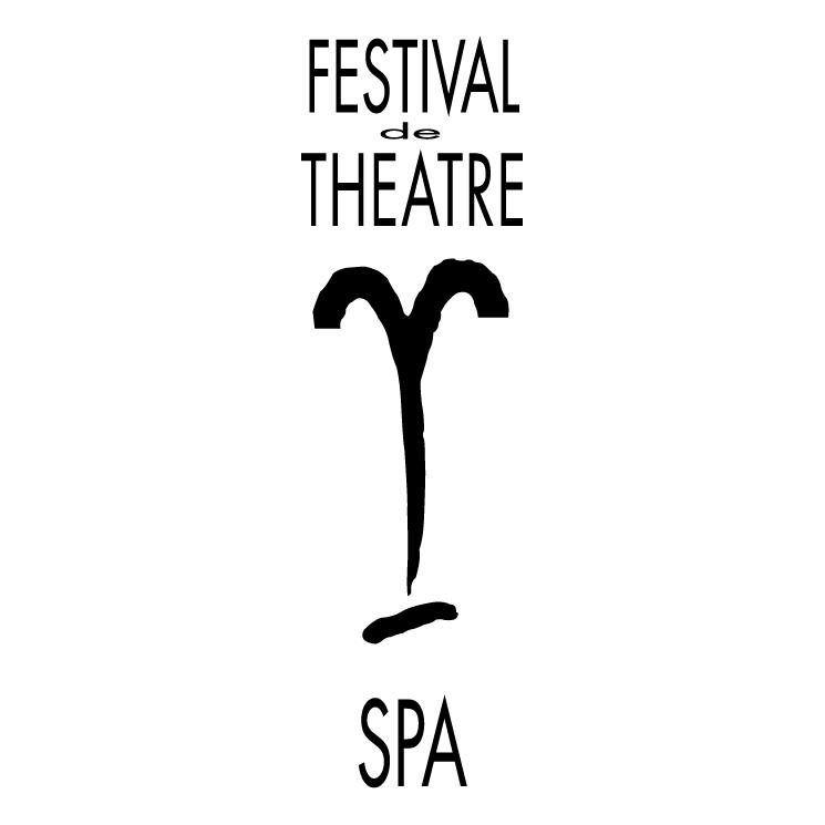 free vector Festival de theatre