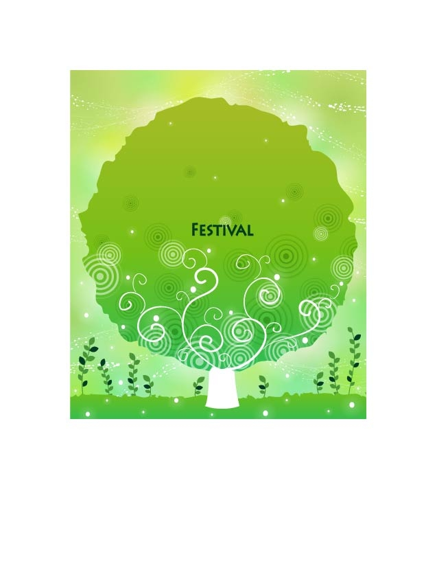 free vector Festival festive female pattern vector 2 10p