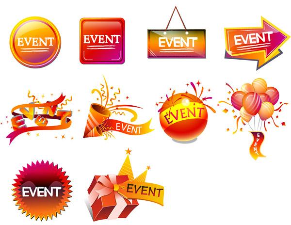 free vector Festivals icon vector sales