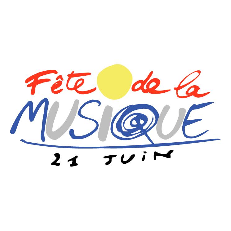 free vector Fete de la musique