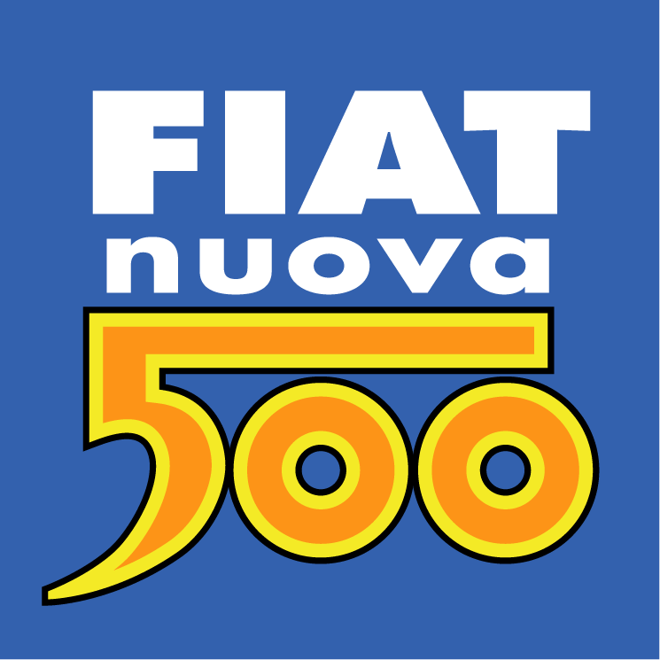 free vector Fiat nuova 500