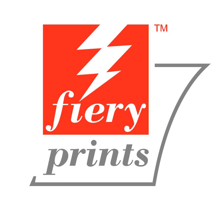free vector Fiery prints 0