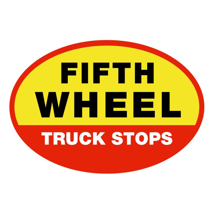 free vector Fifth wheel truck stop