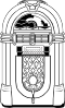 free vector Fifties Jukebox clip art
