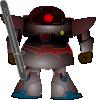 free vector Fighter Robot clip art