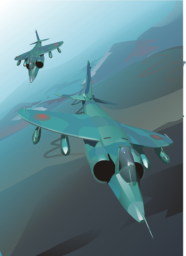 free vector Fighter vector material