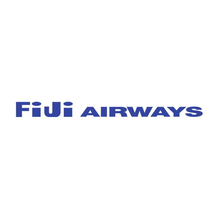 free vector Fiji airways