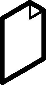 free vector File Outline clip art