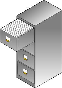 free vector Filing Cabinet clip art