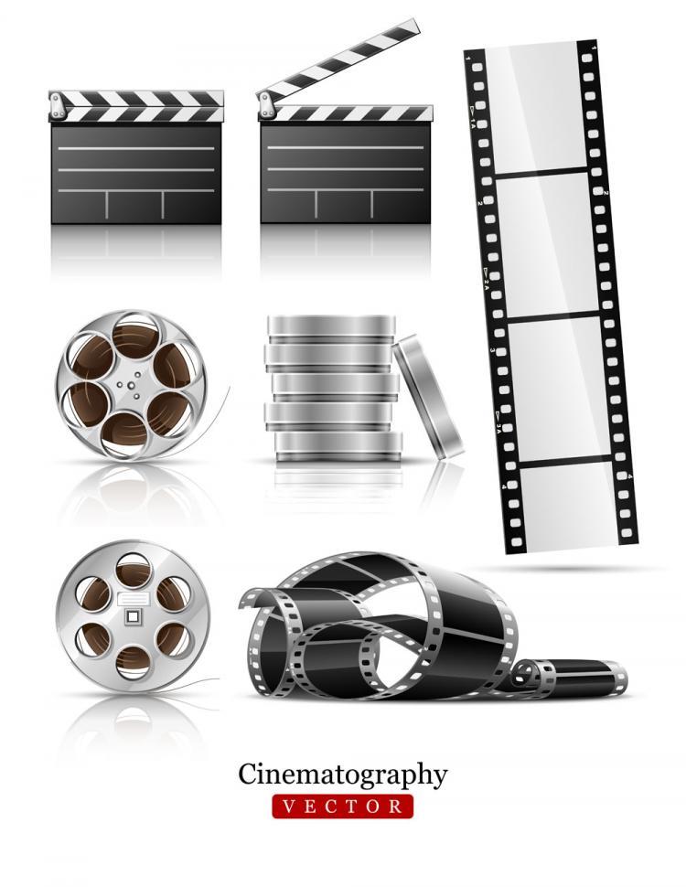 free vector Film negatives vector