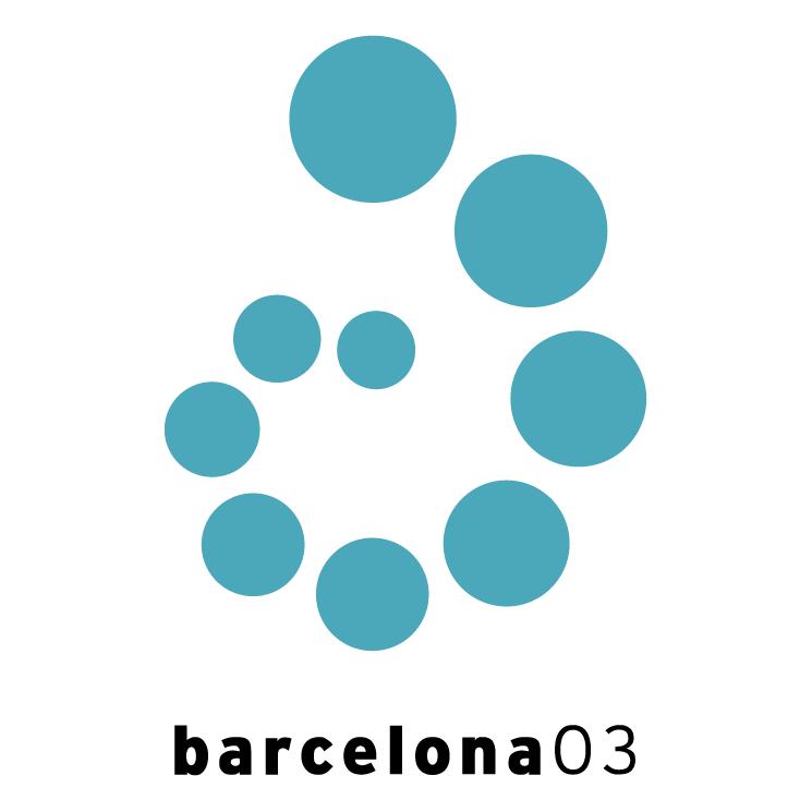 free vector Fina world championships barcelona 2003