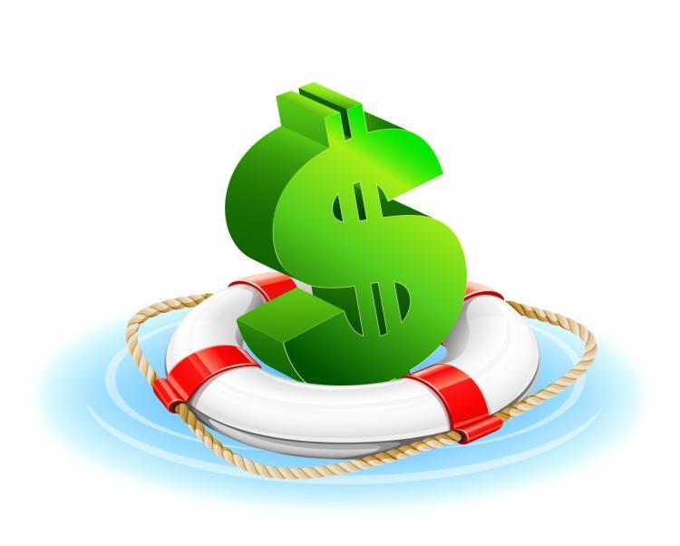 free vector Financial rescue