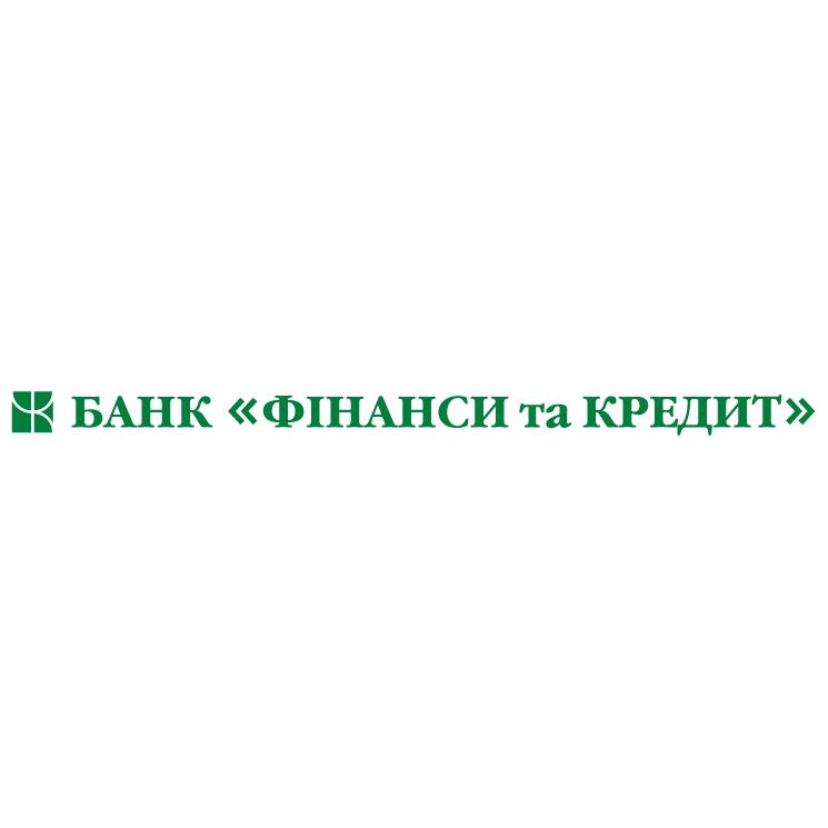free vector Finansy and credit bank