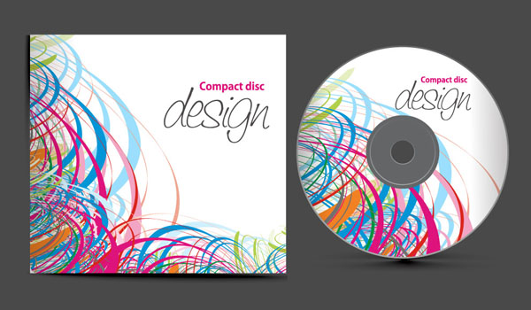 free vector Fine cd set vector