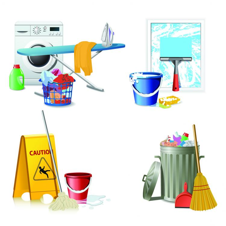 free vector Fine cleaning icon vector