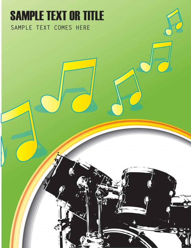 free vector Fine drum 04 vector