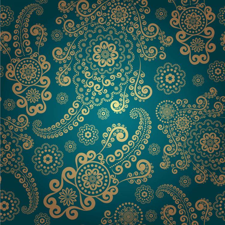 free vector Fine ham background pattern 01 vector