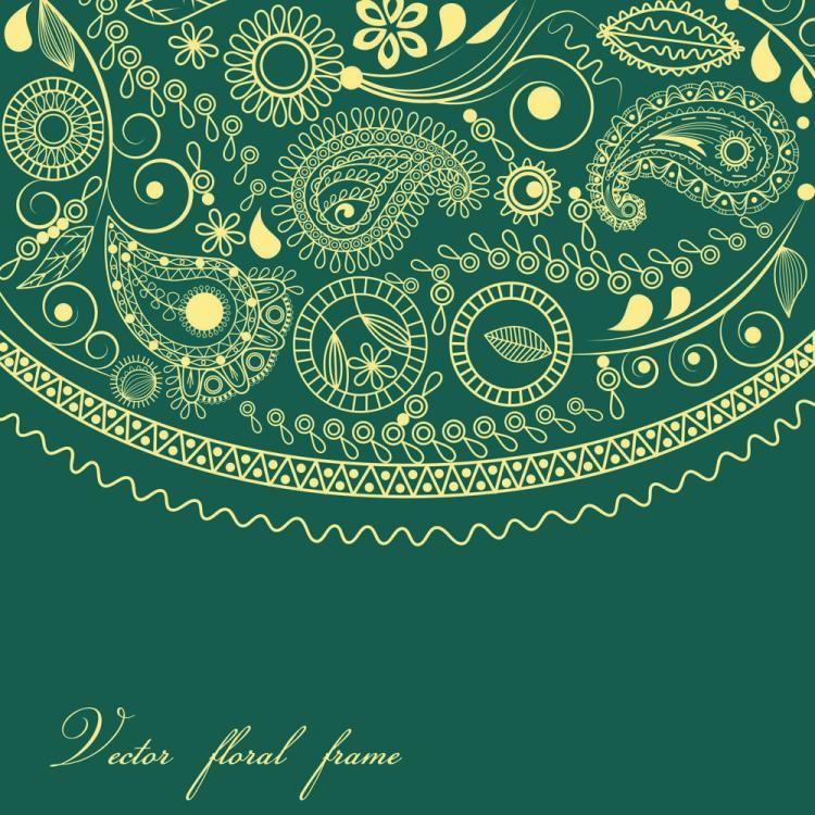 free vector Fine ham pattern background 03 vector