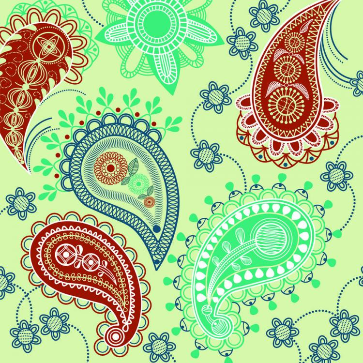 free vector Fine ham pattern background 04 vector