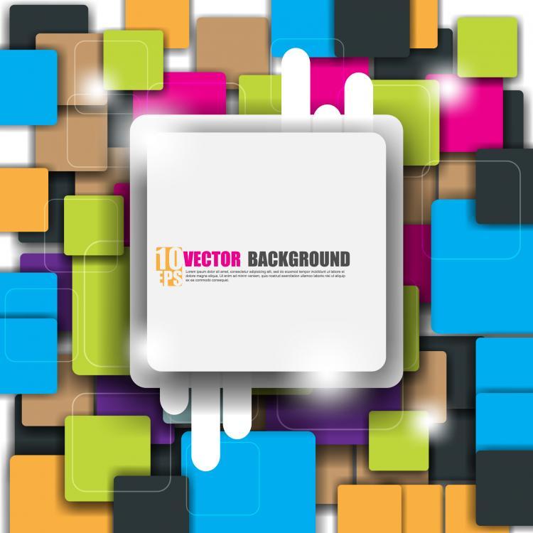 free vector Fine label 02 vector 2784