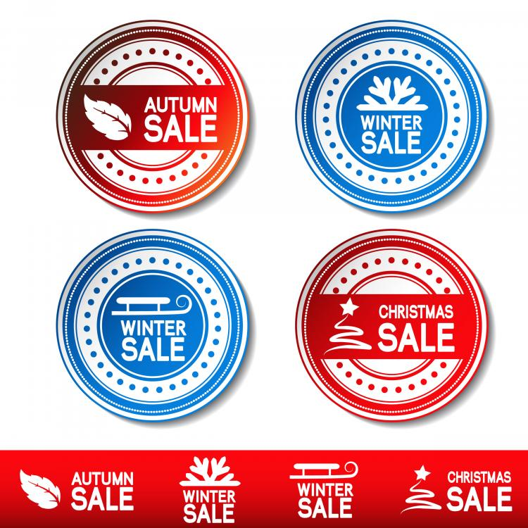 free vector Fine label 04 vector