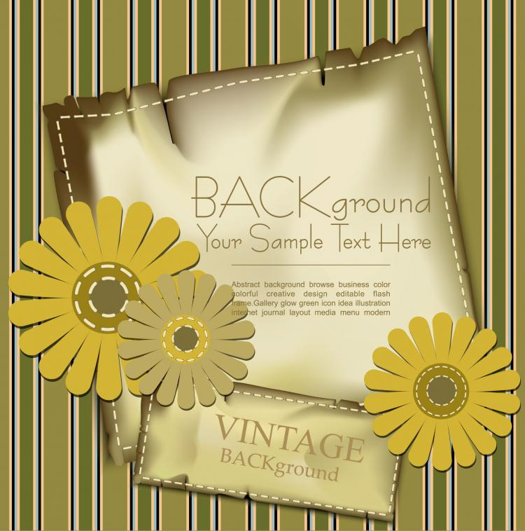 free vector Fine label background 01 vector