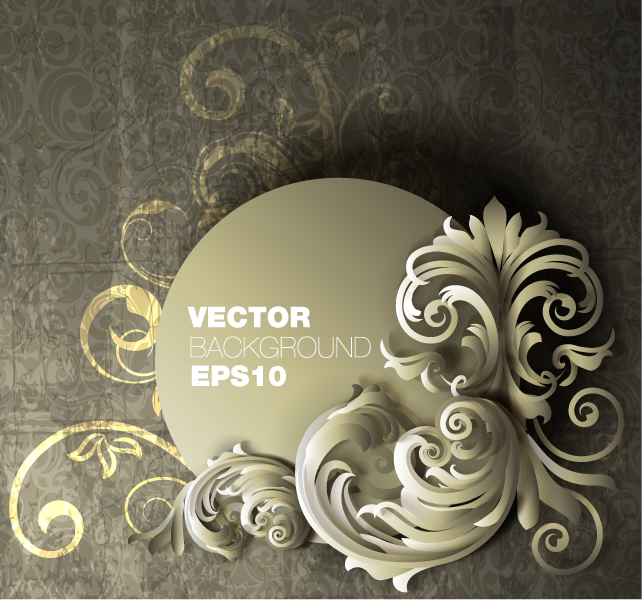 free vector Fine pattern background 05 vector