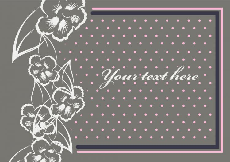 free vector Fine Pattern Border Background 09 - Vector Beautiful Patterns Borders