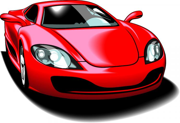 free vector Fine sports car 05 vector
