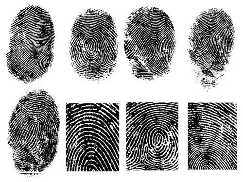 free vector Fingerprint vector 1