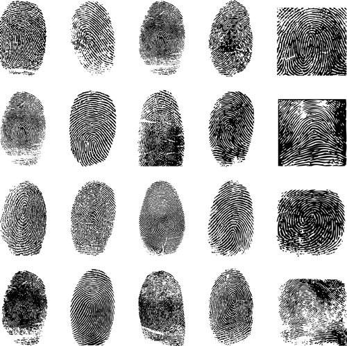 free vector Fingerprint vector 4