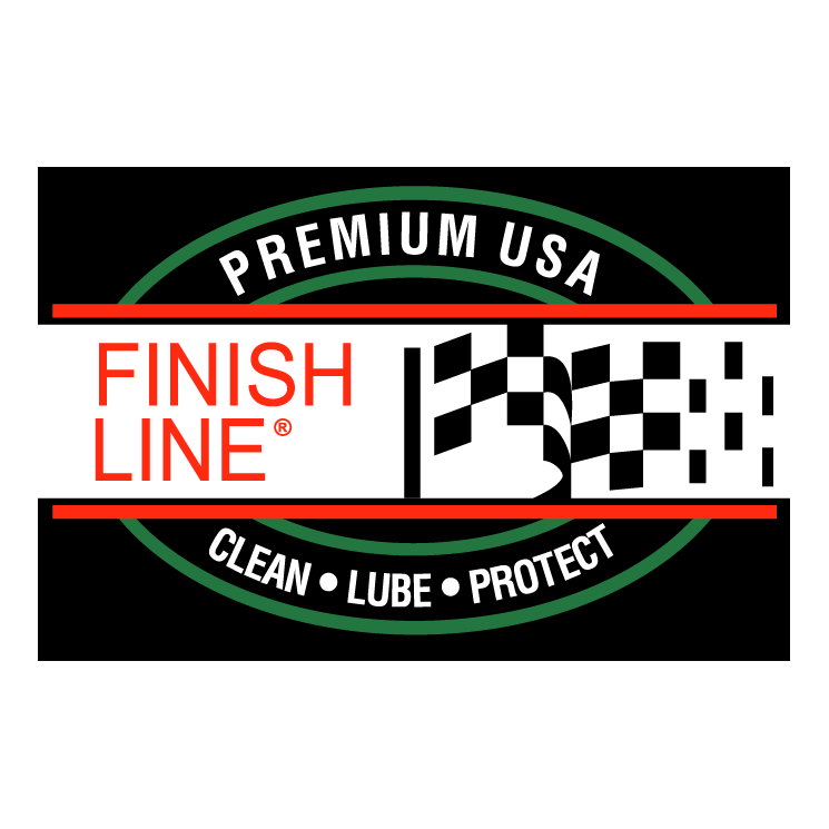 free vector Finish line