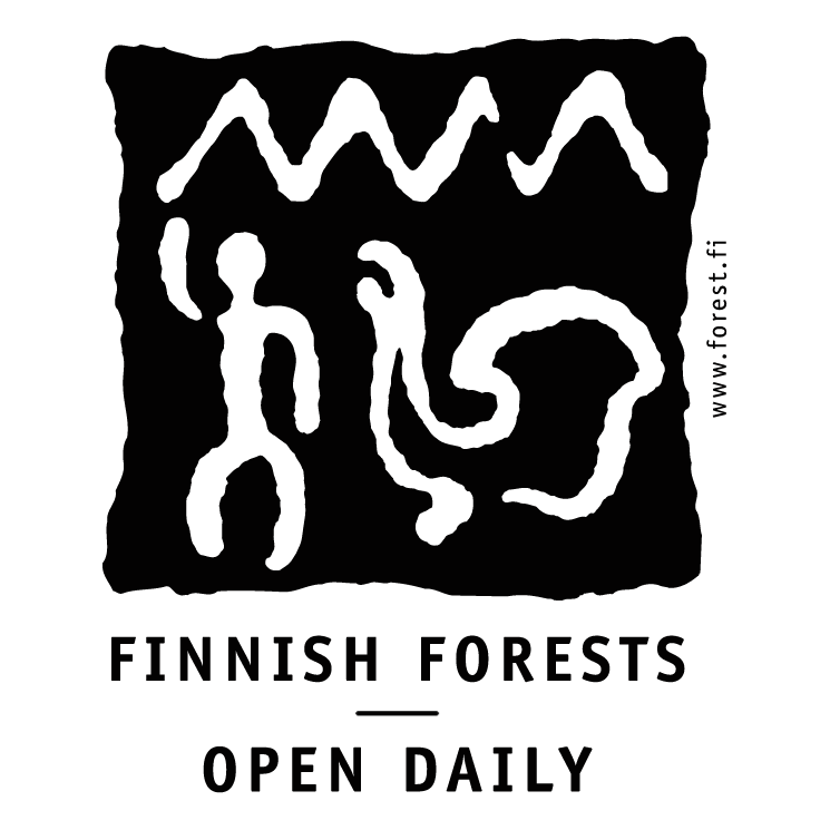 free vector Finnish forest open daily