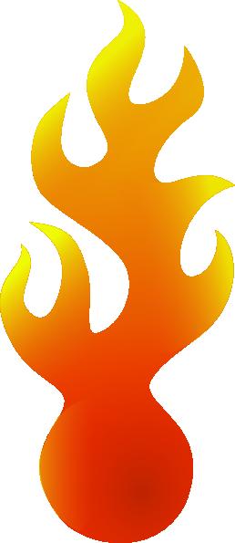 free vector Fire-ball clip art