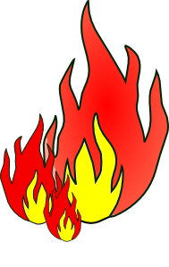 free vector Fire clip art