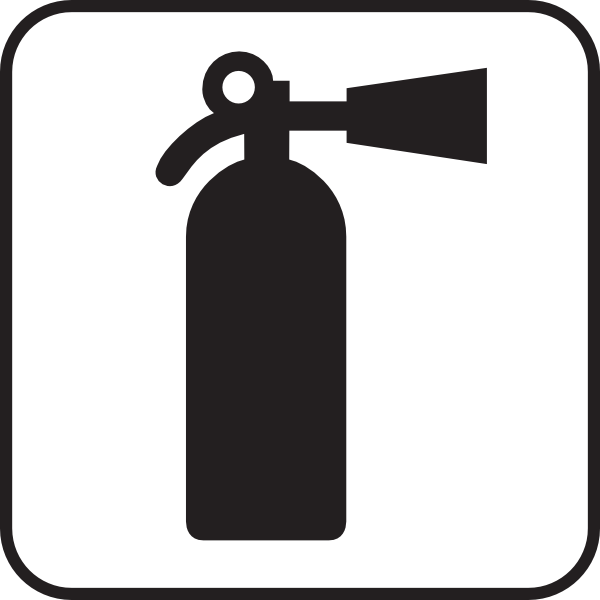 Fire Extinguisher White Clip Art Free Vector 4vector