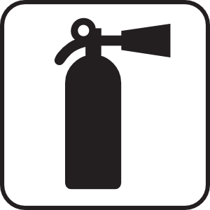 free vector Fire Extinguisher White clip art