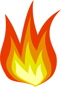 free vector Fire Icon clip art