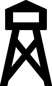 free vector Fire Tower clip art