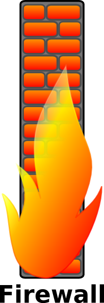 Firewall clip art Free Vector / 4Vector