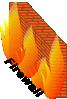 free vector Firewall Network Block Communication Data clip art