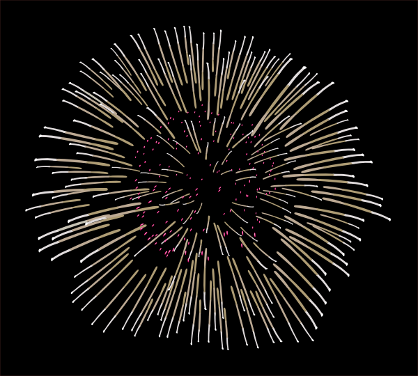 free vector Fireworks clip art