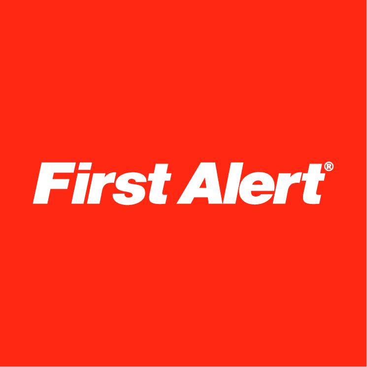 free vector First alert 0