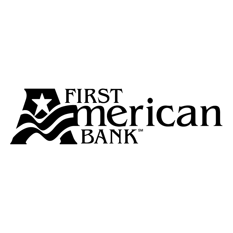 free vector First american bank