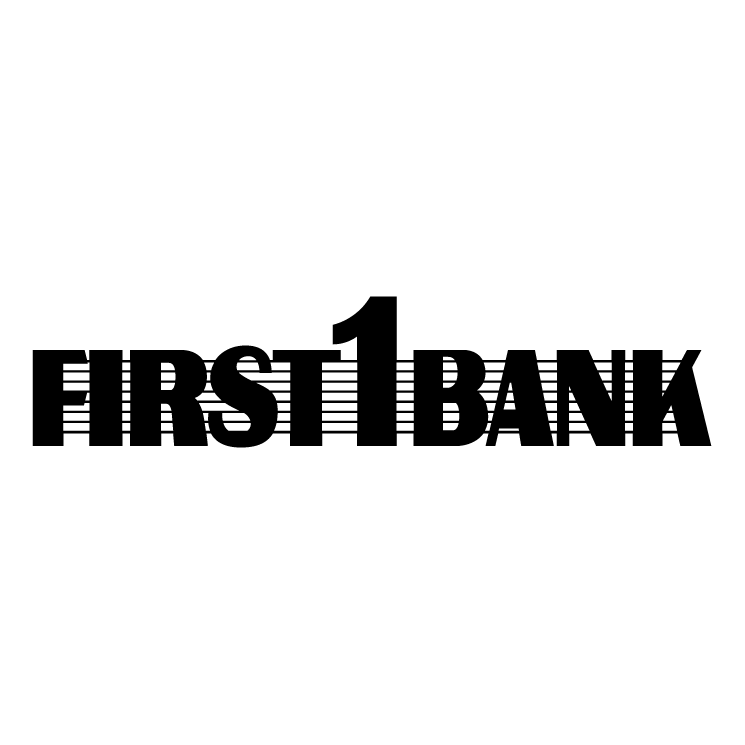 free vector First bank