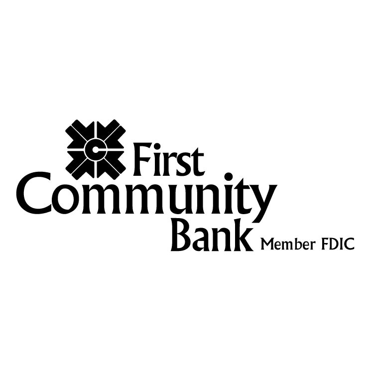 free vector First community bank