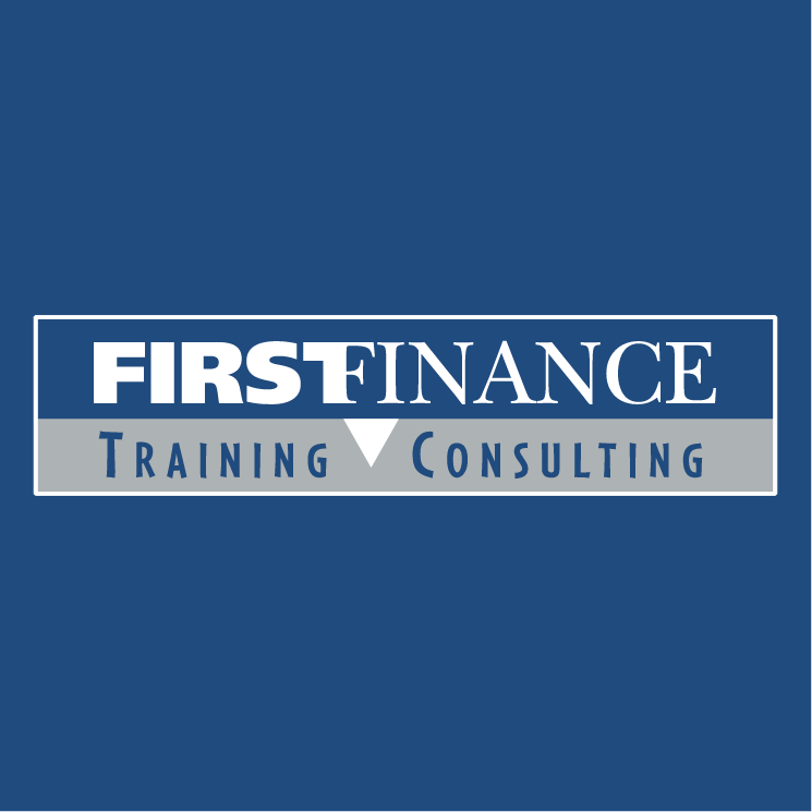 free vector First finance