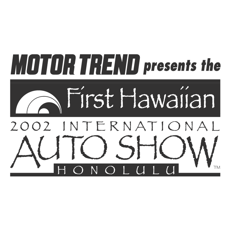 free vector First hawaiian international auto show