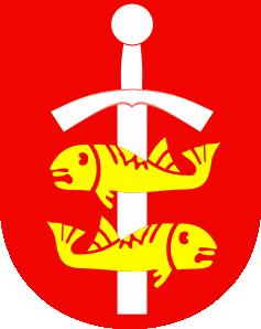 free vector Fish Coat Of Arms clip art